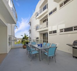 BBQ Sundeck for Apartments 2 & 3 only